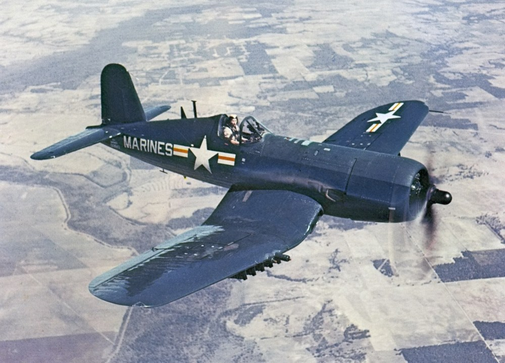AU-1_Corsair_in_flight_1952