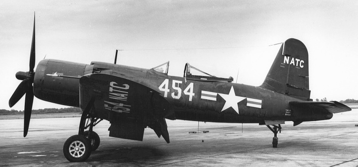 Goodyear_F2G-1D_Corsair_at_NAS_Patuxent_River_1947 copy