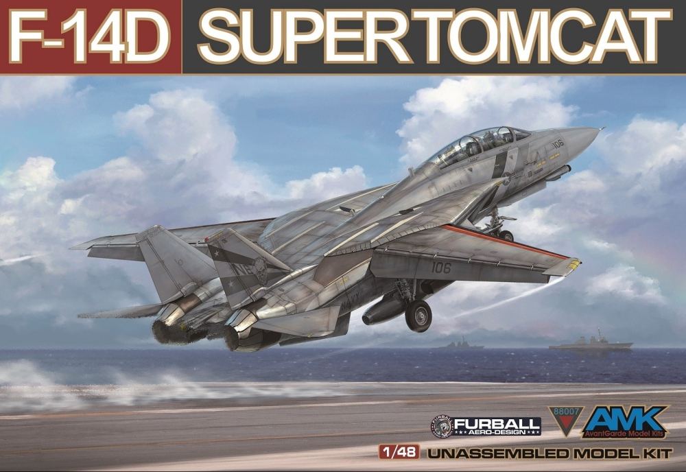 Avantguard Model Kits F-14D super Tomcat (1)